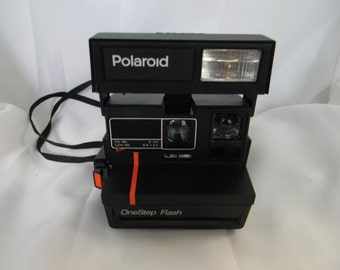Polaroid One Step Flash Red Line Land Camera Guaranteed Working