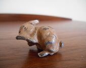 Britains Cast Lead Bunny Rabbit Figure c.1920-30s, Barclay, Manoil