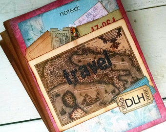 CUSTOM Travel Journal Notebook Diary Vacation Honeymoon
