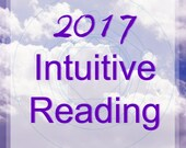 What's In Store for 2017 INTUITIVE Psychic READING plus Crystal Medicine Pouch
