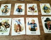 1953 Roundup Western Card Game