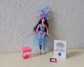 Action Figure, Tenko in the Sapphire Sea Dolphin Fashion from the Princess Tenko and the Guardians of the Magic Series.