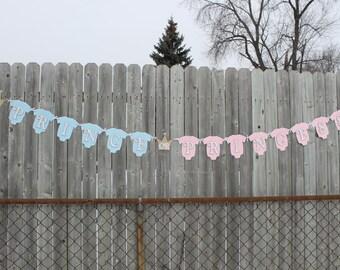 gender reveal banner