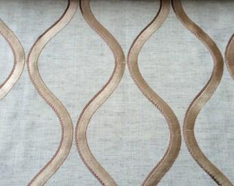 Platinum Lagoon Linen Curtain Fabric By The Yard Upholstery Fabric Drapery Fabric Window Treatment Fabric Sofa Fabric Pillow Fabric