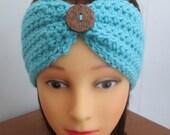 Crochet PATTERN, ear warmer, headband, instant download