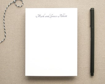 Personalized Name Notepad / Small Notepad for a Couple / Personal Memo Pad / Custom Notepad