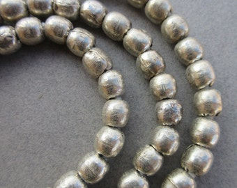 African Old Silver Spacer Beads