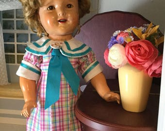 18inch Shirley Temple doll Bright Eyes replica dress