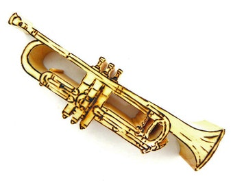 Trumpet, Miniature Trumpet, Jazz Ensemble, Orchestral Ensemble, Musical Instrument, Brass Instrument, Jazz Trumpet, Jazz Instrument