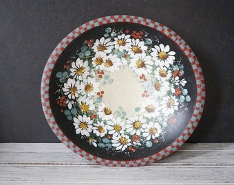 Hand Painted Daisies Bowl