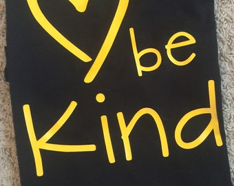 Be Kind T-Shirt adult and youth sizes
