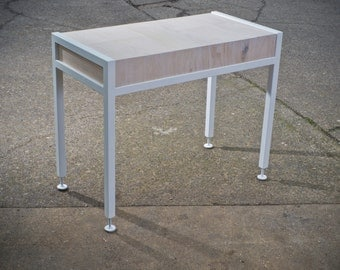 Laptop Desk with Cord Chase & Adjustable Feet
