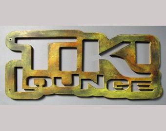 Retro Tiki Lounge Sign CLEARANCE