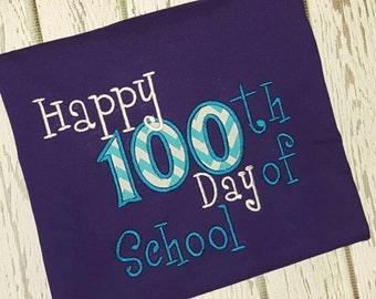 Happy 100 Days of School teacher or student Shirt