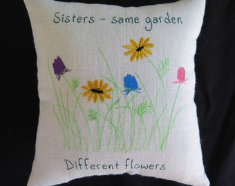 Three Sisters Pillow