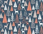 Nighttime Gander in Navy  582 - THE BIG CHILL - Dear Stella Design Fabric - By the Yard