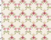 SALE - Little Lattice in Ecru  8325-E - GRACEFUL Moments by Maywood Studio - By the Yard