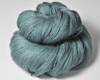 Rain in a graveyard - Merino/Silk/Cashmere Fine Lace Yarn