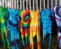 Tie dye Custom long underwear adult onesie-unisex sizes Small through 2XL