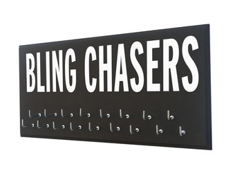 running medals hanger : unique medals hanger For the bling chasers out there running 5k, 10k, half and full marathon