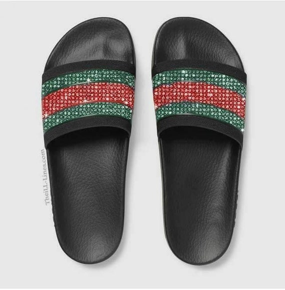 Brilliant Womens Gucci Tian Slide Sandal  Gucci Women39s Sandals