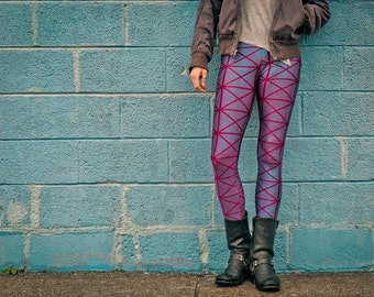 Sparkle and Shine Leggings- Blue