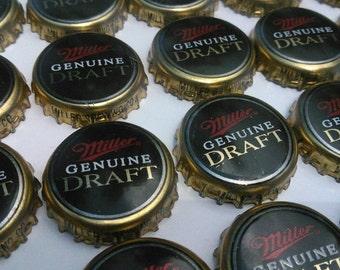 150 MGD Miller Genuine Draft Bottle Caps