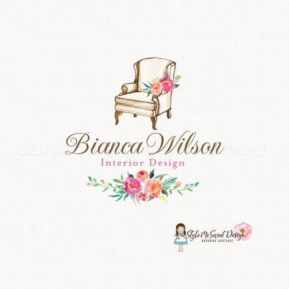 interior design logo home decor logo vintage chair logo mountain home management logo tmaindesigns com