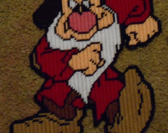 Grumpy From The 7 Dwarves Plastic Canvas Pattern