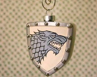 Game of Thrones Stark House Sigil Shield