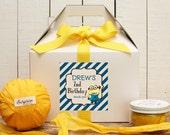 Set of 6 - Minion Birthday Party Favor Boxes // Minion Birthday Party // Kids Party Favor // Despicable Me Party // Minion Favors