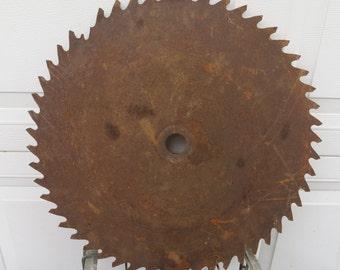 Vintage Circular Saw Blade.