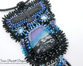 Northern Lights Beaded Pendant Necklace SALE