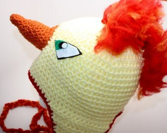 Crochet Moltres Hat / Handmade Moltres Hat / Adult Moltres Hat / Team Valor Hat / Pokemon Costume / Adult Hat Ready to Ship