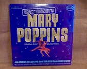 SEALED WALT DISNEY'S - Mary Poppins...Original Cast Soundtrack - 1973 Vintage Vinyl Record