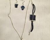 Solar Panel Jewelry Set