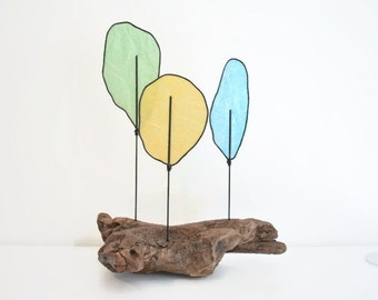 Tree Sculpture - Driftwood -  Nature Art - Modern Abstract - Paper Art