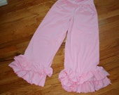 Women's Ruffle Pants ...