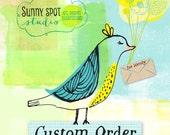 Reserved Listing for Wendy - Custom Art Print