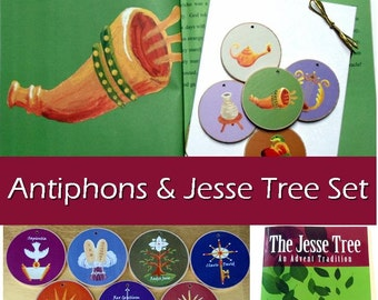 Advent Set - Antiphons, Storybook, and Jesse Tree set