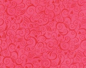 Ever After Ever After Passionate Pink Swirls by Deb Strain for Moda