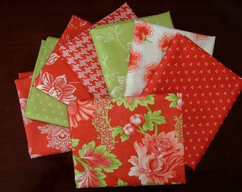Somerset Fat Quarter Bundle of 8 by Fig Tree Quilts for Moda