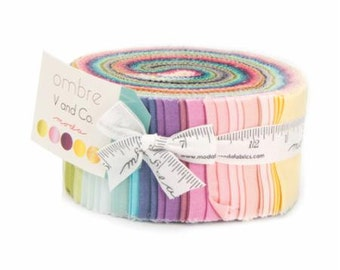 Ombre Jelly Roll designed by Vanessa Christensen of V and Co.