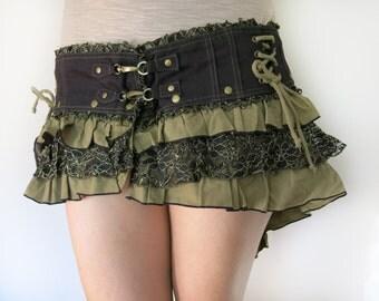 Festival Lotus Bustle Belt Skirt Wrap