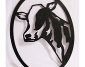 Farm Animal Sign | Animal Wall Art | Farm Decoration | Wall Decor | Home Decor | Cow Lover Gift | Cow Wall Hanging | Farmer Gift | Farm Gift