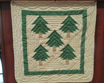 Vintage Quilting Instructions - The EZ Way - Log Cabin Quilt