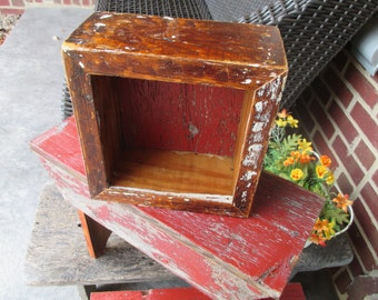 Antique and Recycled Wood Box/Crate - Barn Wood