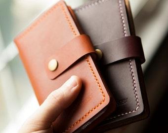 Slim Leather iPhone 6 Plus Wallet Case