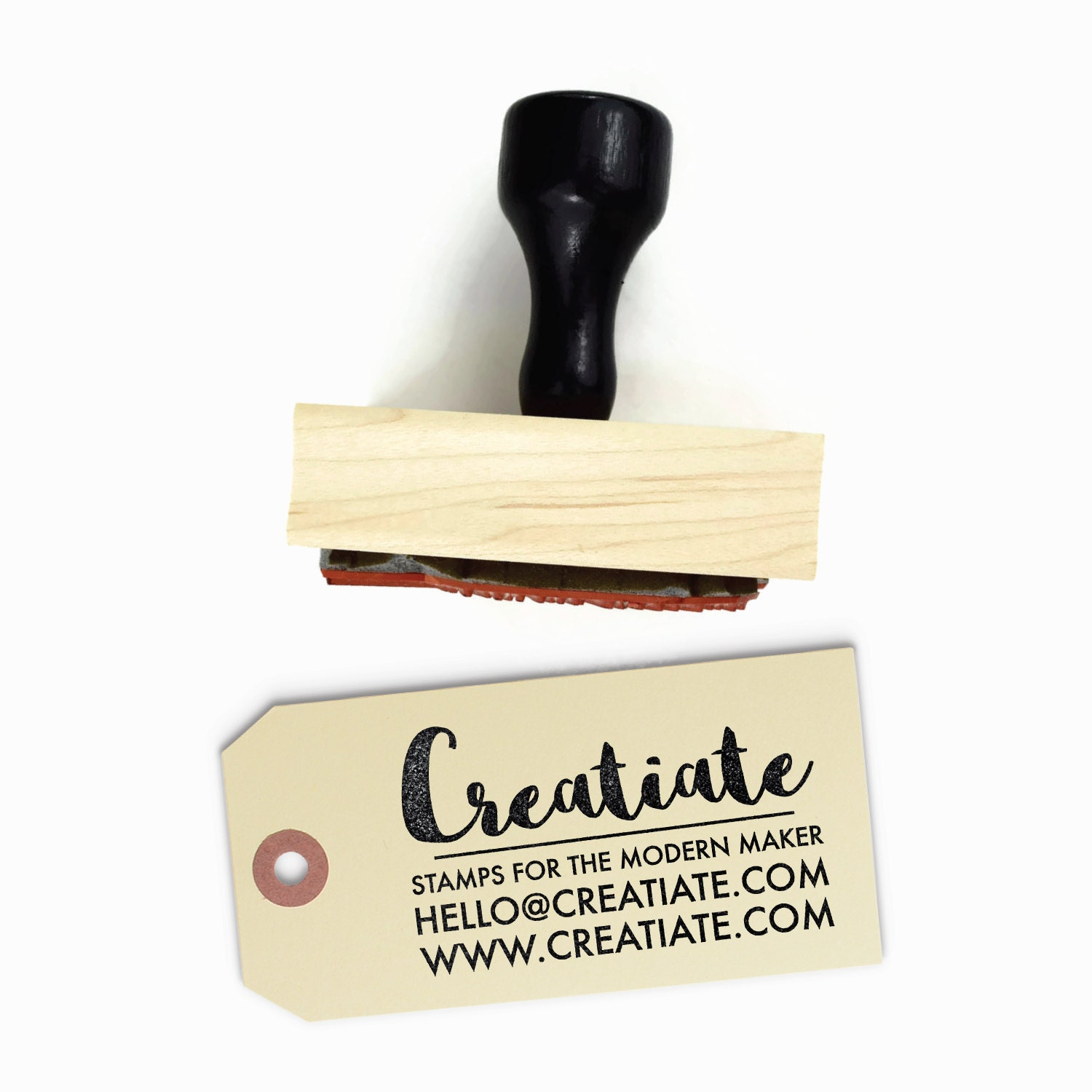 Custom Business Card Rubber Stamp | Customized Personalized Small ...
