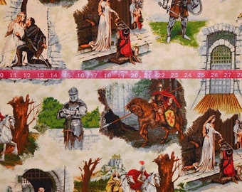 Exclusively Quilters. Through the Ages Main - Cotton Fabric - Choose your cut
